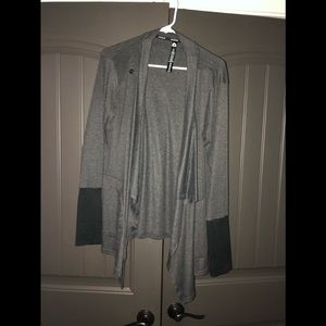 Grey yoga jacket wrap. Excellent condition.